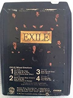 EXILE Mixed Emotions 8 Track Tape 70's Kiss You All Over