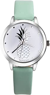 Latest Women Quartz Watches PAPHITAK Pineapple on Sale Ladies Watches Female Watches Leather Watch-N2