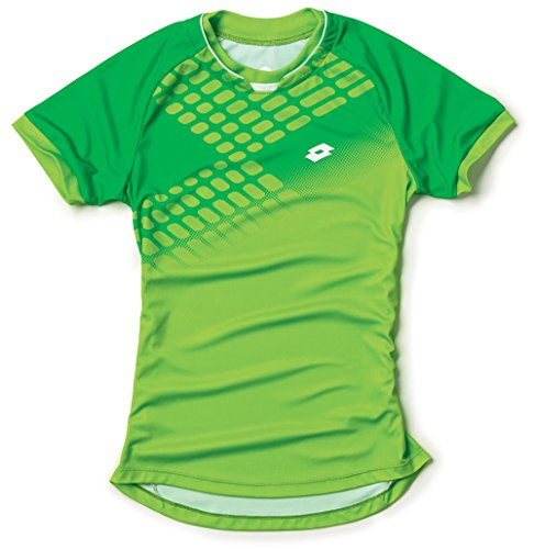 Lotto t-Shirt pour Homme Connor Net XL Multicolore - Fluo Clover/Fluo Green