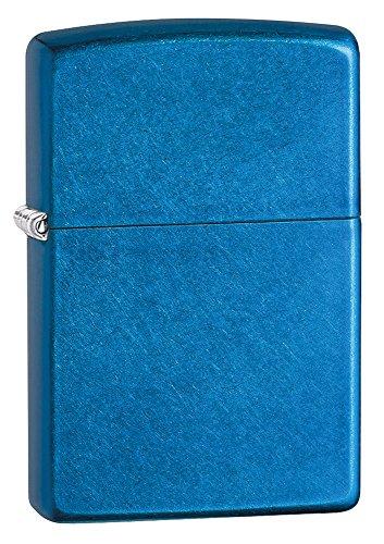 Zippo Zippo James Bond 007 Benzinfeuerzeug, Messing, Cerulean, 1 x 3,5 x 5,5 cm Cerulean