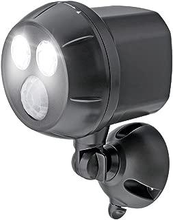 Mr. Beams MB390, 400 Lumen Version, Weatherproof Wireless Battery Powered Led Ultra Bright Spotlight with Motion Sensor, 1-Pack, Brown