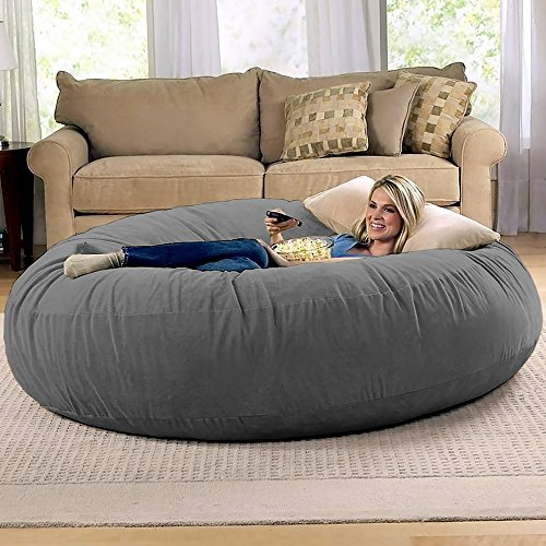 Jaxx 6-Foot Beanbag Chair for Adults