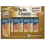 Lance Sandwich Crackers, Whole Grain Peanut...