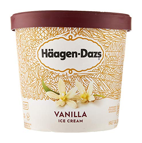 Haagen-Dazs Ice Cream, Vanilla, 64 oz (Frozen)