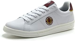 Zapatos Hombre Fred Perry Leather Badge Blanca B8291 134