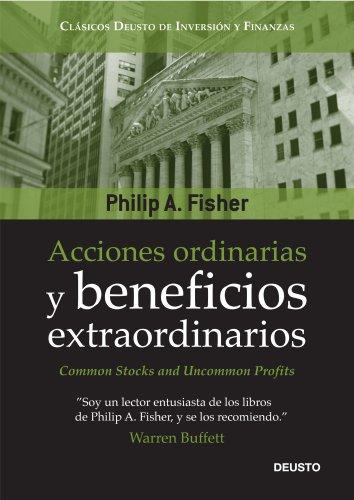 Book's Cover of Acciones ordinarias y beneficios extraordinarios: o los inversores conservadores duermen bien Versión Kindle