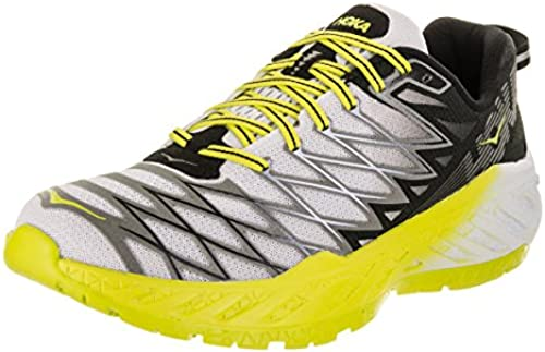 HOKA M Clayton2 Schuhe Men& 039;s schwarz Weiß Citrus-9-42 2 3 EU