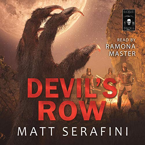 Devil's Row audiobook cover art