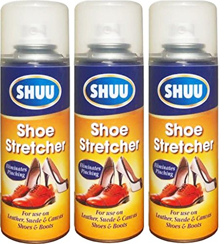 3x 200ml Schuhdehner Spray lindert enger Schuhe Leder Weich HLU pajee TM