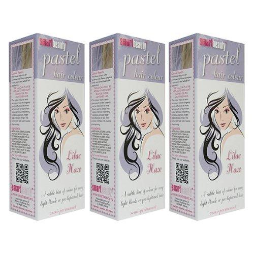 Smart Pastel Lilac Haze Haarfarbe, 3 Stück