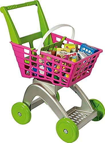 Supermarket Trolley And Boxes by Mookie