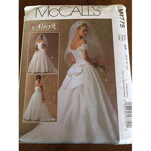 Bridal Gown Patterns Amazon Com