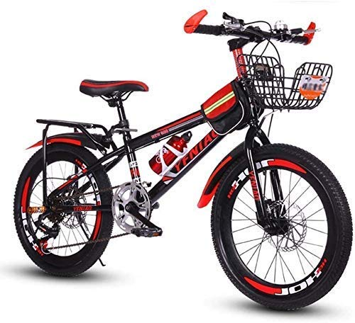 WZLJW Kinderfahrrad, Berg Bicle, Studenten Bike, Hard Tail Bike, 18/20/22 Zoll, Variable Speed ​​Bicle, Stadt-Pendler Bicle Perfekt for unterwegs oder Dirt Trail Touring LIN ggsm