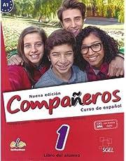 Compañeros 1 alumno @ Nueva edición (Companeros: Student Book with Internet Support Access: Curso de Espanol)