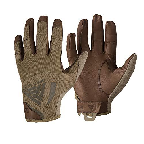 Direct Action Harte Handschuhe Leder Coyote Größe M