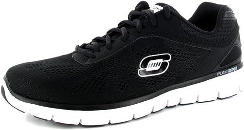 Skechers , Chaussures de course course pour homme Noir Noir  plus abordable