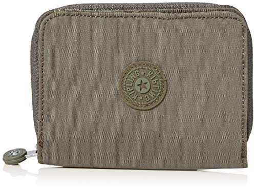Kipling Damen Money Love Geldbörse, Grün (Seagrass), 9.5x12.5x2.5 cm