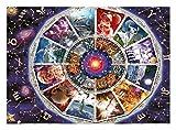 CXFRPU Puzzles 9000 Piezas de cartón Rompecabezas for niños de educación for Adultos Juguetes Rompecabezas Astrología Familiar interactiva de Juguete Rompecabezas