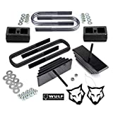 WULF 2.8' Adj Front 2' Rear Leveling Lift Kit compatible with 1999-2004 Ford F250 F350 Super Duty 4X4