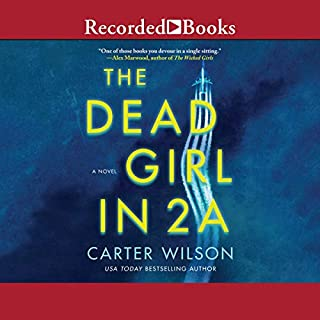 The Dead Girl in 2A audiobook cover art
