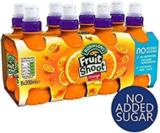 Robinsons Fruit Shoot Orange No Added Sugar 8 x 200ml
