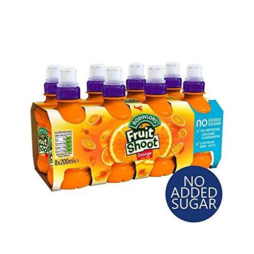 Robinsons Fruit Shoot Orange Kein Zucker 8 X 200 Ml Hinzugefügt