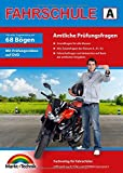 Führerschein Fragebogen Klasse A, A1, A2 - Motorrad Theorieprüfung original amtlicher...