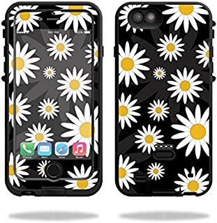 MightySkins Protective Vinyl Skin Decal Compatible with LifeProof Fre Power iPhone 6/6S Case wrap Cover Sticker Skins Daisies