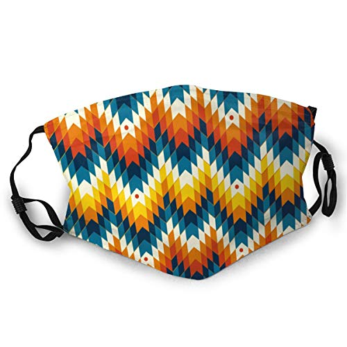 New Navajo Native American Pattern Dust Headwear,Washable and Reusable Cleaning Gardening Headwear