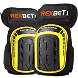 Knee Pads for Work, Construction Gel Knee Pads Tools by REXBETI, Heavy...