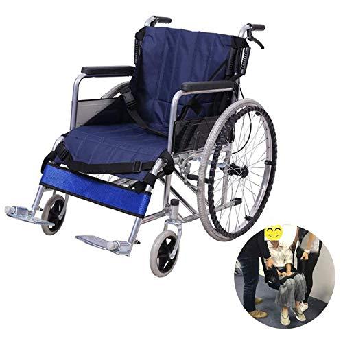ZYQDRZ Rollstuhltransfergurt, RollstuhlunterstüTzungsgurt FüR Behinderte Patienten, MobilitäTsunterstüTzungsgurt, Rollstuhlliftkissen
