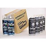 AutoFullCar - Pack Sprays Full Dip Gun Metal Super Brillo Vinilo líquido | FullDip