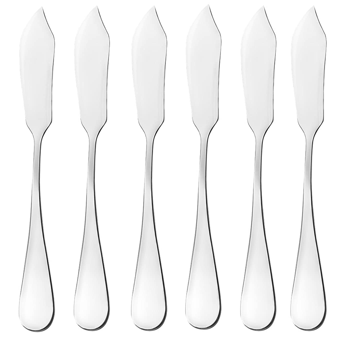 Butter Knife,Cheese Knife, Cheese Spreaders, AOOSY Cute Mini 5.91 inches Stainless Steel Kitchen Knives for Butter Sandwiches Cheese Breakfast,Packs Of 6 (Butter Knife in The Box)