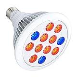 Litom Grow Lights, 36W Plant Growth Lights E27 Bulbs for Indoor Garden...