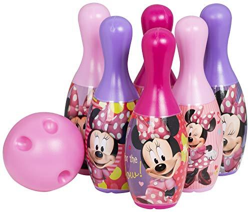 Sambro Disney Mickey Mouse Bowling-Set für Kinder, Kätzchen, für drinnen und draußen, Mehrfarbig