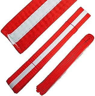 Ace Martial Arts Supply White Stripe Color Belts
