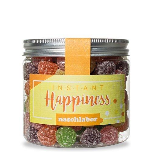 Instant Happiness Fruchtgummi Mix von Naschlabor - Schnelles Glück aus der Dose gefällig