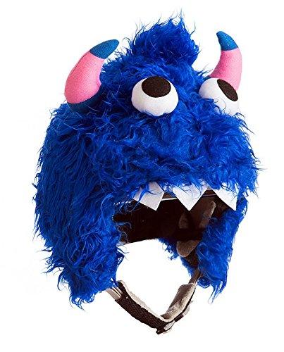Orlob Skihelm Verkleidung Schneemonster blau