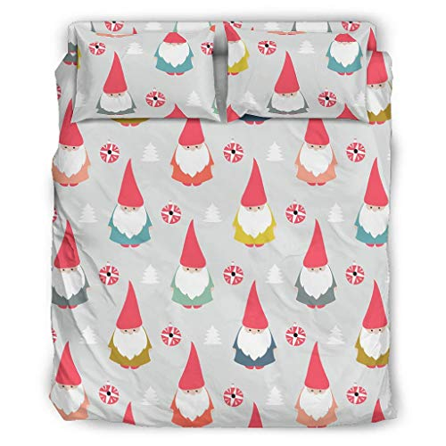 Xuanwuyi elegant komfortabel luxuriös und weich Tagesdecke Bettwäsche-Set hypoallergenes Bettwäscheset für Kinder & Erwachsene White 228x228cm