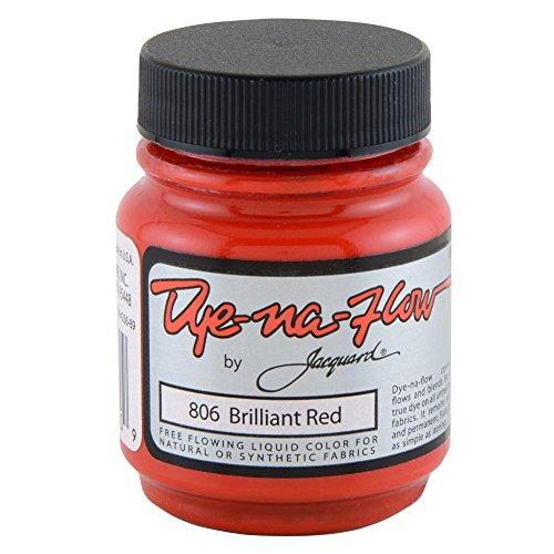 Jacquard Dye-Na-Flow 2.25 OZ Brilliant Red