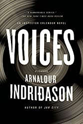 book cover for Voices - a detective series set in Iceland