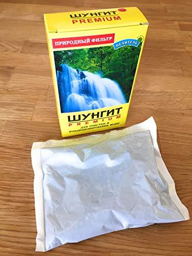 Natürlicher Filter, Wasser-Aktivator, Reiniger, Shungit Heilstein, 500g