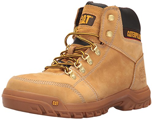 Caterpillar Mens Outline Steel Toe Work Boot