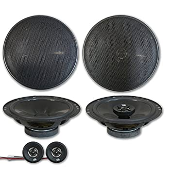 JBL Stage 6.5  2-Way Car Component System + 6.75  2-Way coaxial Speakers  Pair