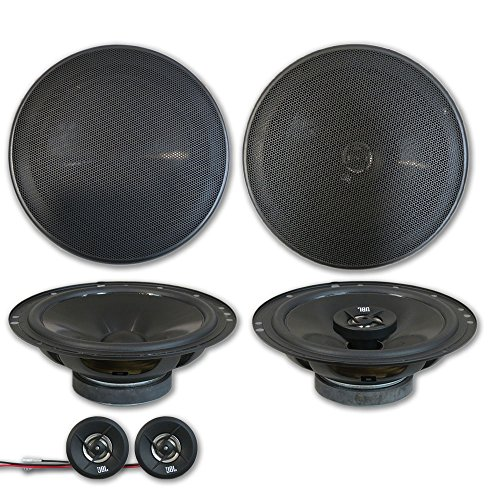 """JBL Stage 6.5"""" 2-way Car Component system + 6.75"""" 2-way coaxial speakers (Pair)"""