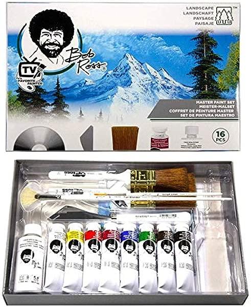 Martin F Weber Bob Ross Master Paint Set