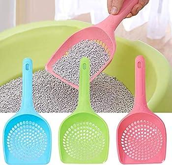 Hpybest Pelle à litière Creuse en Plastique pour Chat