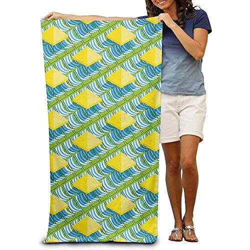 utong Toallas de Playa 100% algodón 80x130cm Toalla de Secado rápido para Nadadores Patrón Manta de Playa