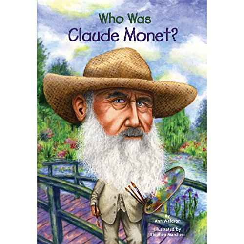 Who Was Claude Monet? audiobook cover art