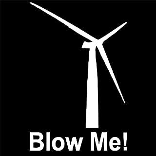 2pcs Blow Me Windmill Wind Power Energy Friendly Nature Wall Home Glass Window Door Laptop Truck Vinyl Car Sticker